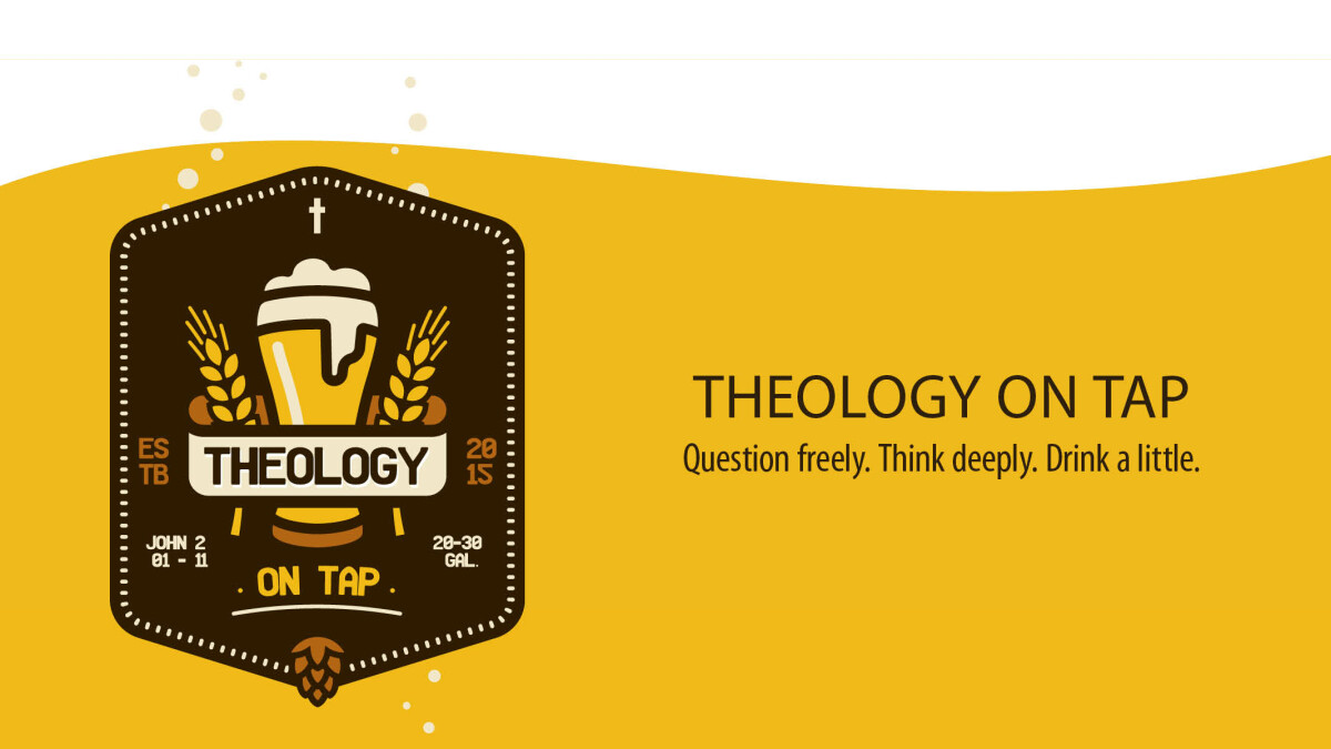 Image result for theology on tap