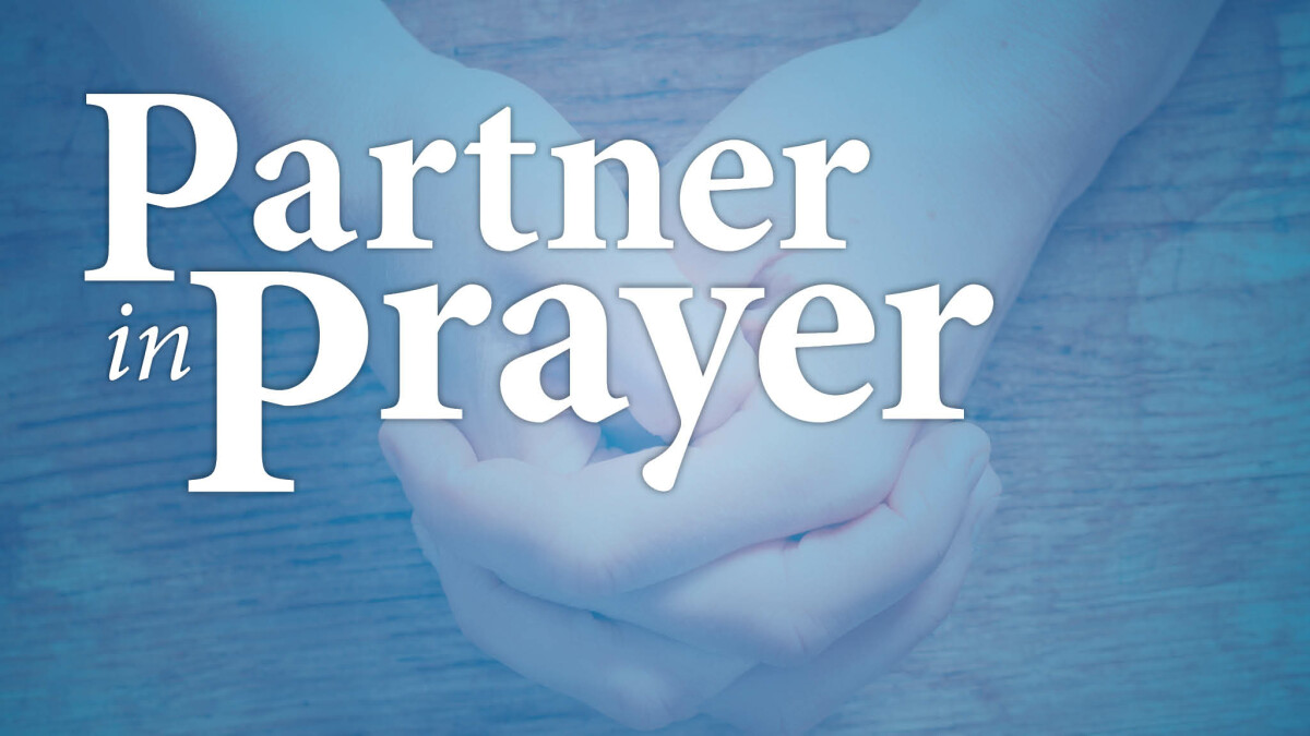 Partner in Prayer Sign-up
