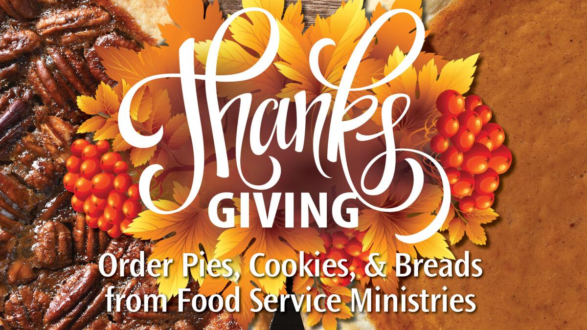 Order Thanksgiving Treats