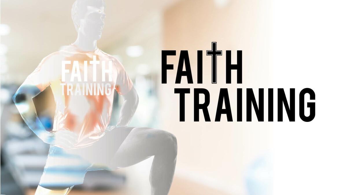 Faith training dinner
