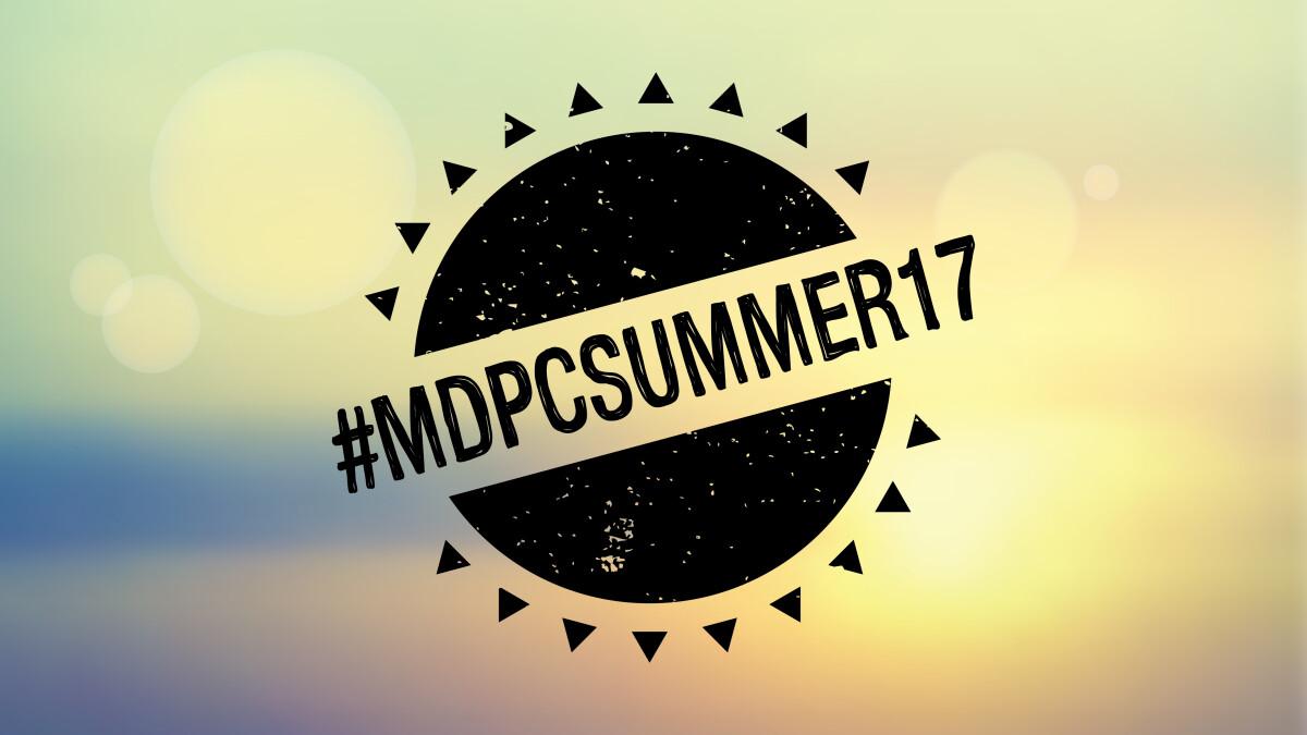 #MDPCSummer17