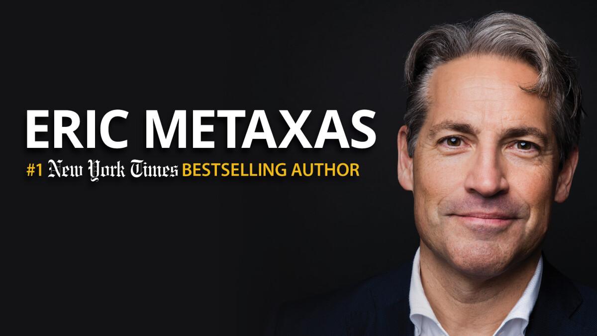 An Evening with Eric Metaxas