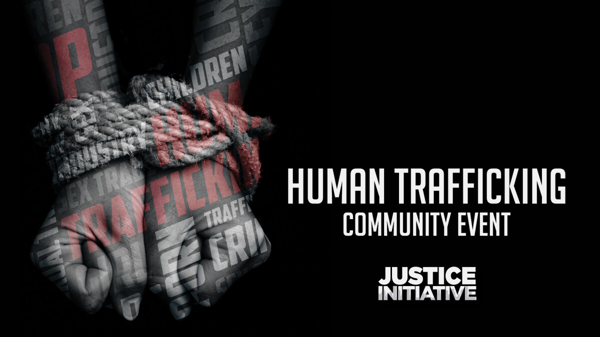 Human Trafficking Community Event