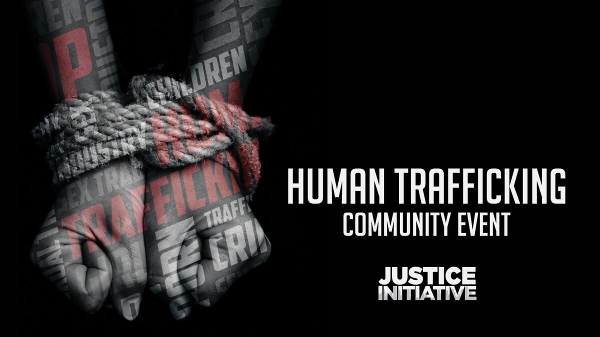 Human Trafficking Community Event
