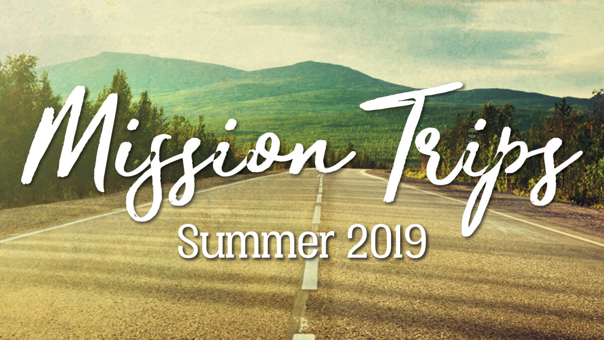 Youth Mission Trip Registrations