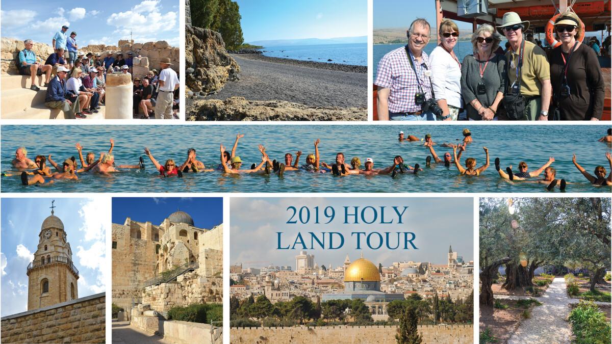 Holy Land Trip Interest Meeting
