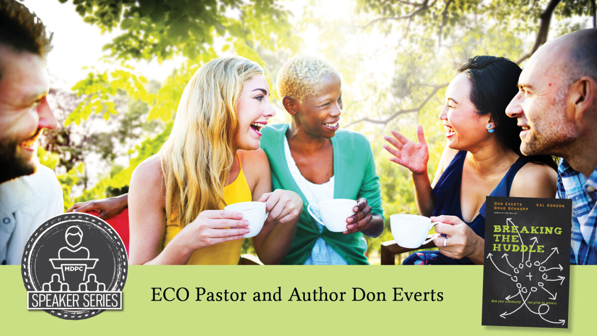 Speaker Series Event with Don Everts
