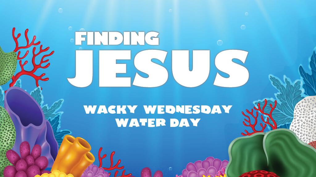 Wacky Wednesday Water Day!