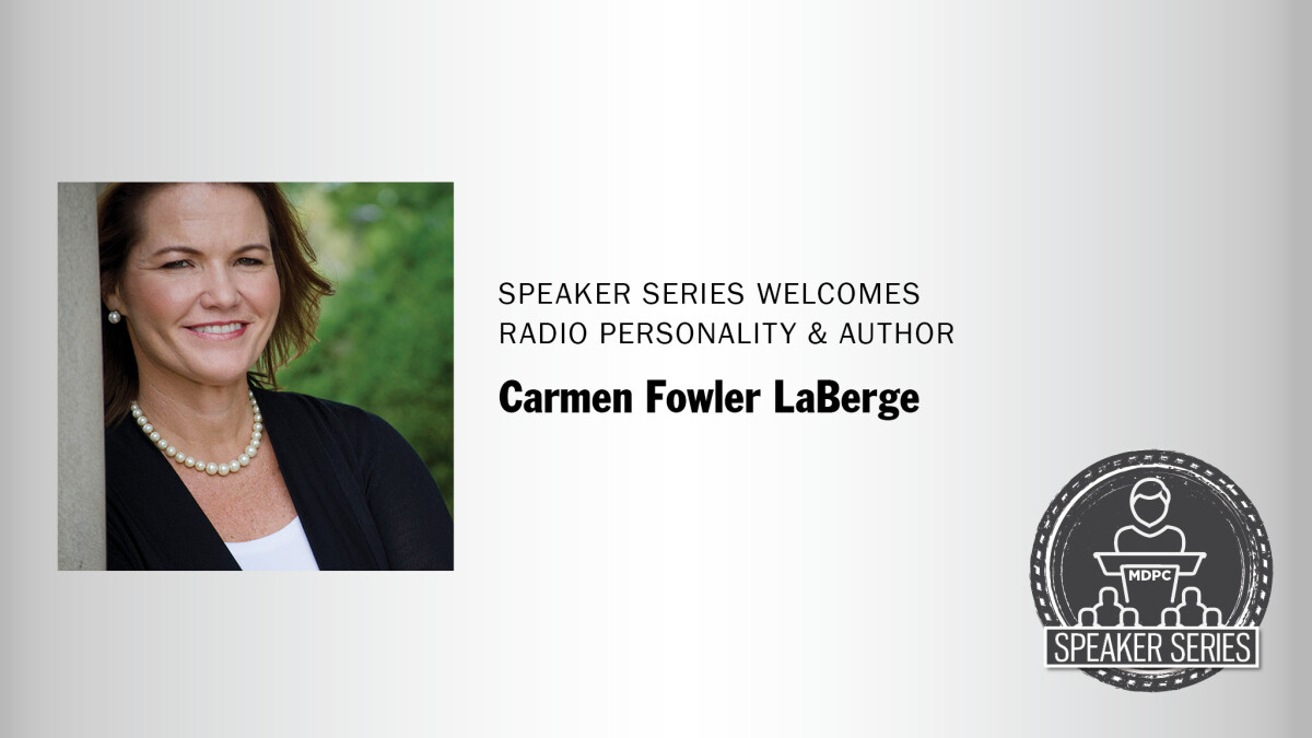 Carmen LaBerge is our Next Presenter