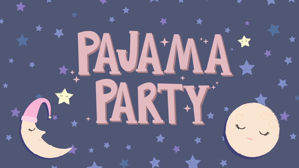 Elementary Girls Pajama Party