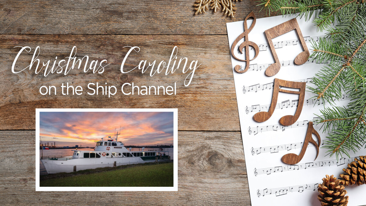 Christmas Caroling on the Ship Channel