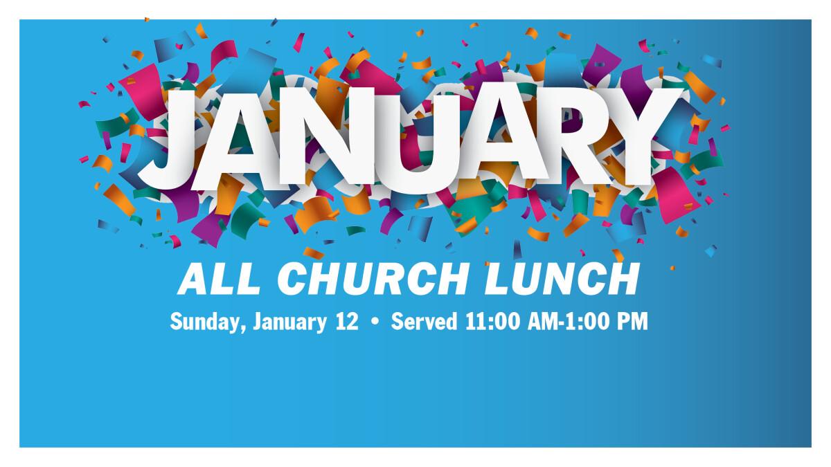 All-Church Lunch