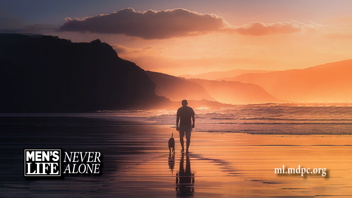 Men's Life: Never Alone