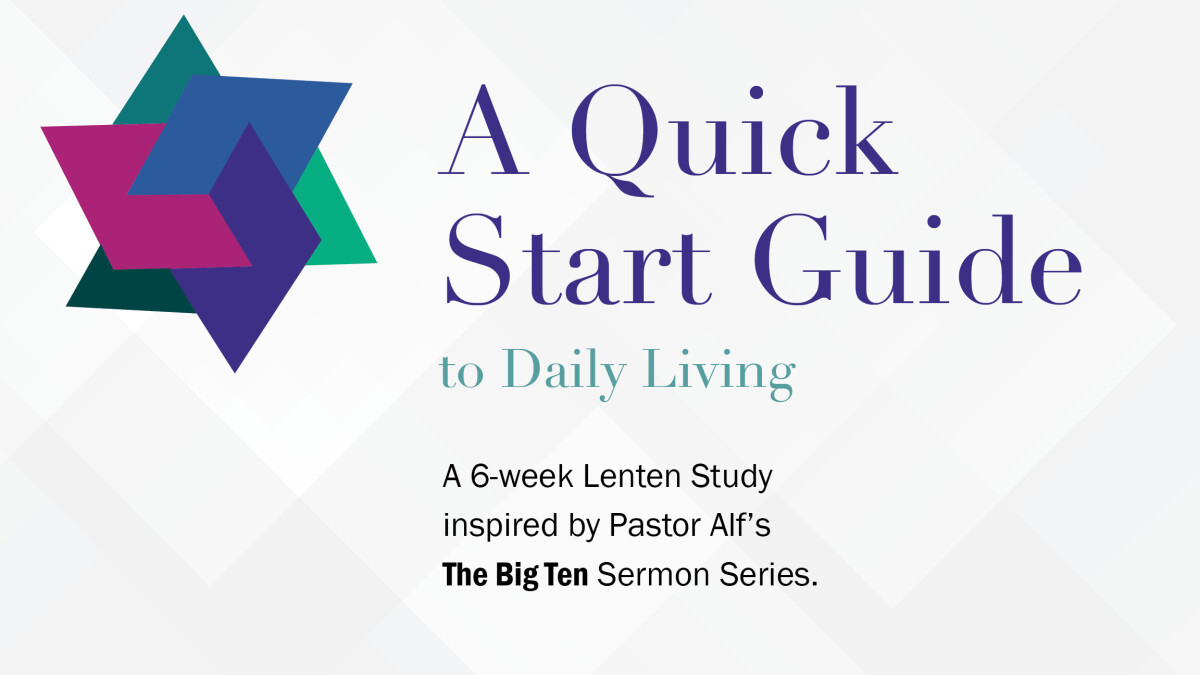 A Quick Start to Daily Living