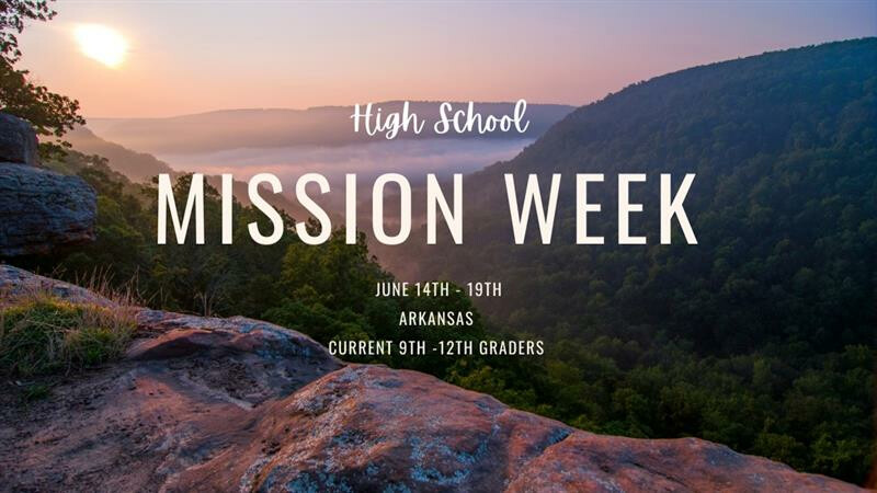 High School Mission Trip to John Brown University