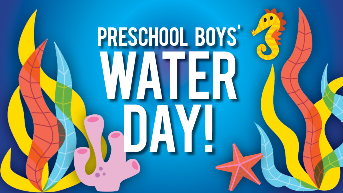 Preschool Boys Water Day