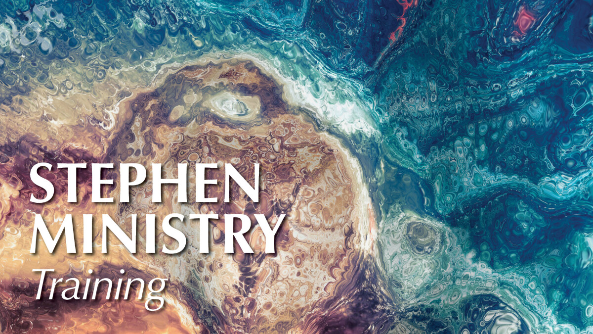 Be a Stephen Minister