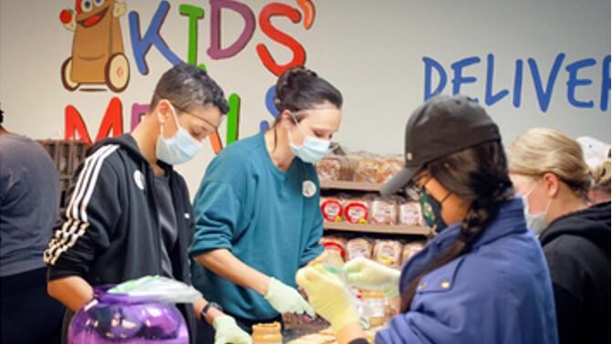 Kids' Meals: Serve at Kids' Meals